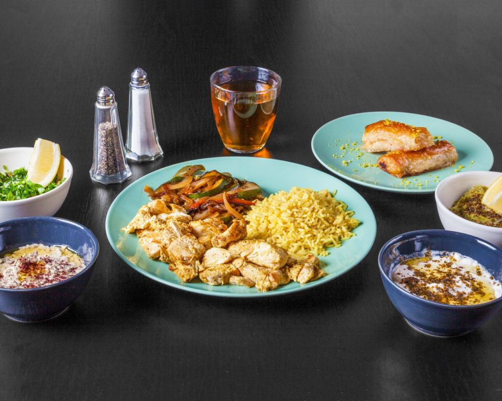 Palestinian restaurant Roubaix
