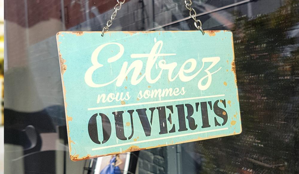 CONFINEMENT – VOS COMMERCES DE PROXIMITÉS OUVERTS