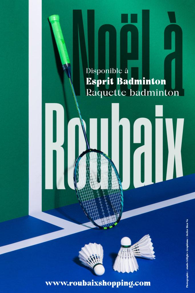 Noël à Roubaix - Esprit Badminton