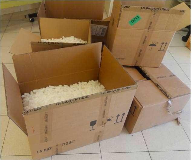 Cartons – Le salon biosthétique